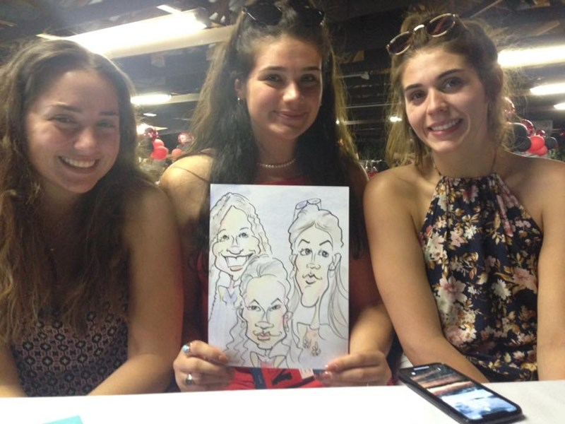 Caricatures by Mark Brennan - Caricaturist - Watervliet, NY