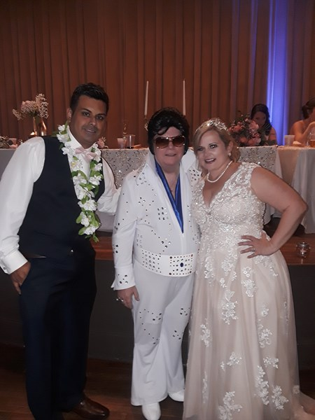 Elvis Theme Wedding