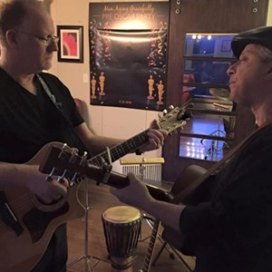 Needham Acoustic Duo | Peter Lawlor with Neal Zweig on lead guitar
