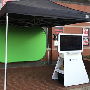 Charlotte Court House Green Screen Rental | TapSnap1120 - Photo Booth