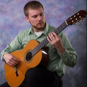 Wheatfield Acoustic Guitarist | Kevin Brown Guitar