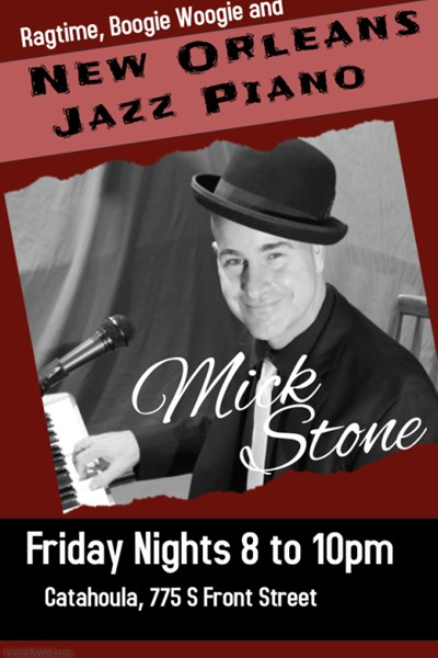 Mick Stone - Singing Pianist - Philadelphia, PA
