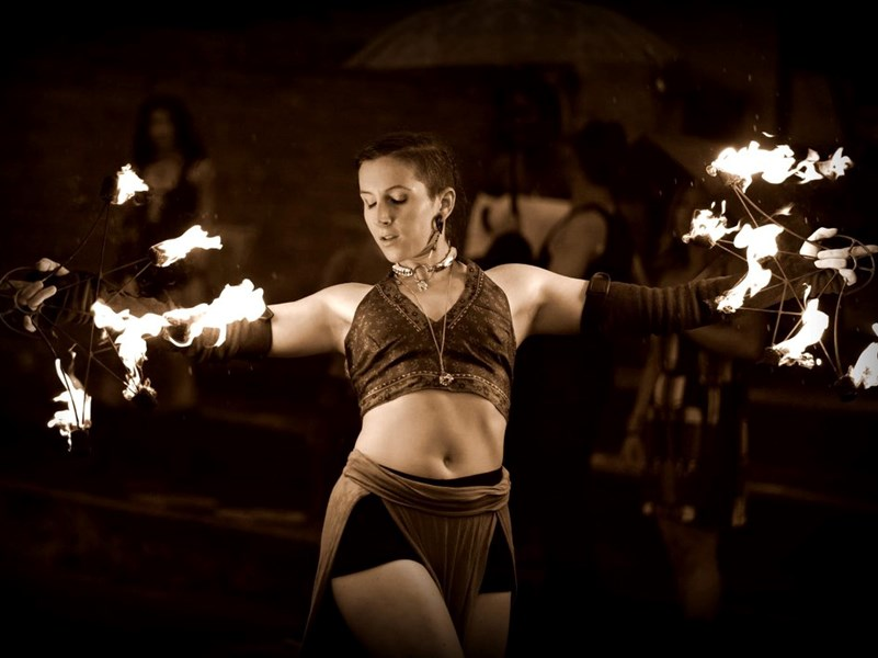 Va Va Virvelvind - Fire Dancer - Washington, DC