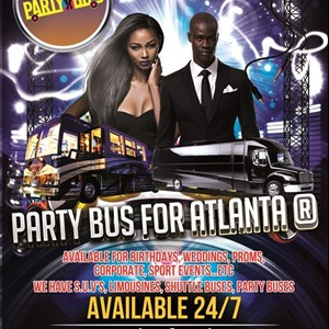 Atlanta, GA Party Bus | Party Bus For Atlanta ®