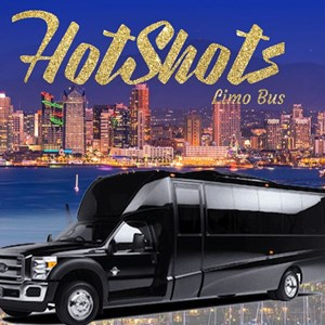 San Diego, CA Party Bus | HotShots Limo Bus