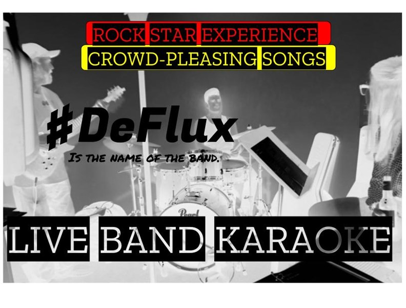 #DeFlux is the name of the band