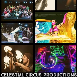 Minneapolis, MN Fire Dancer | Celestial Circus Productions