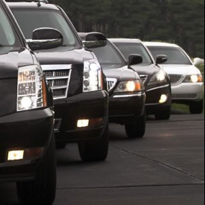 Center Cross Funeral Limo | Corporate Class