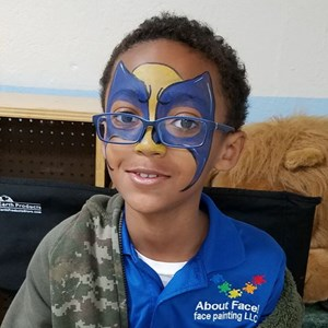 Gaithersburg Face Painter | About Face! face painting LLC