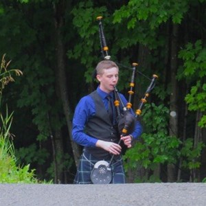 Burlington, VT Celtic Bagpiper | Matthew Brouard