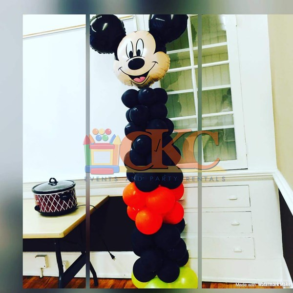 Mickey Mouse Balloom Column