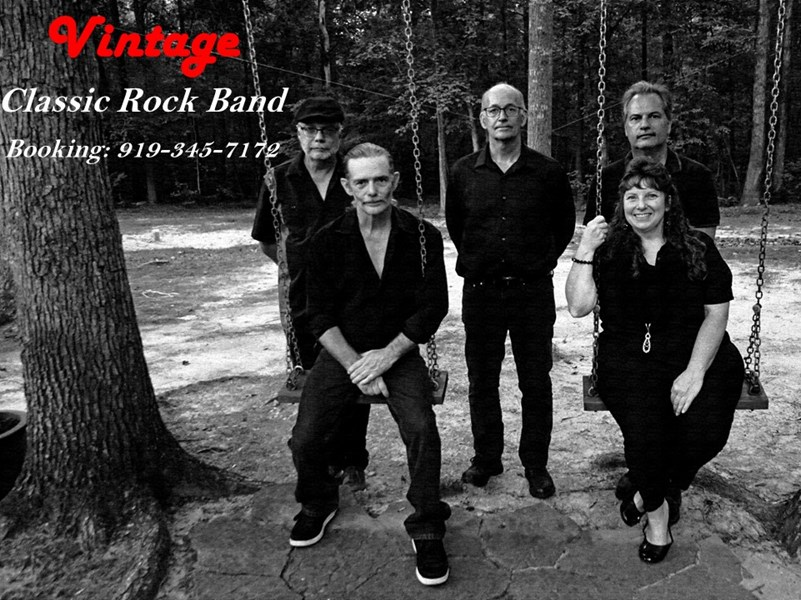 Vintage - Classic Rock Band - Raleigh, NC