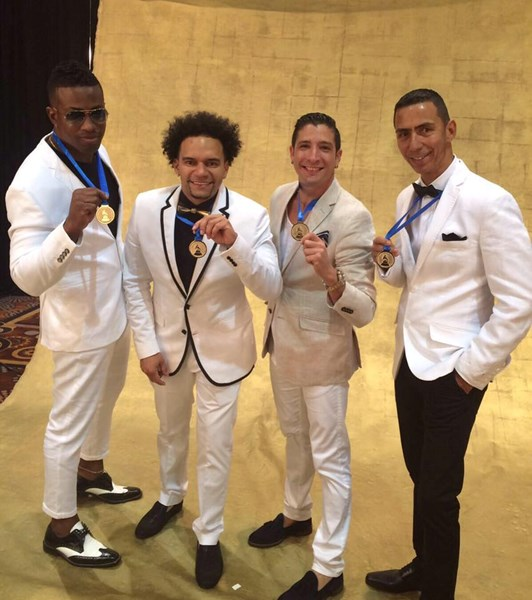 Sonlokos at The Latin Grammy