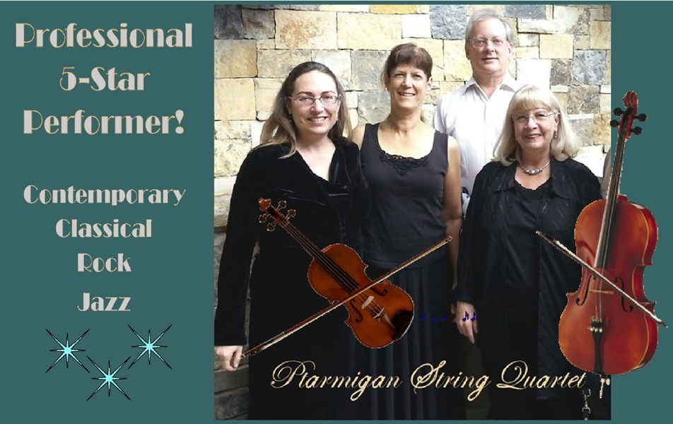 Ptarmigan Classical & Rock String Quartet! - String Quartet