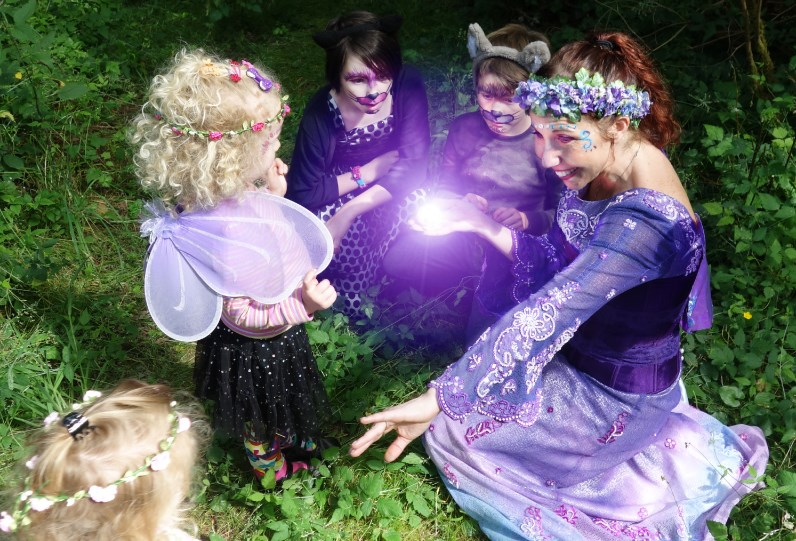 Fairy Magic / Wizard Birthday Parties - Costumed Character - Clinton, WA