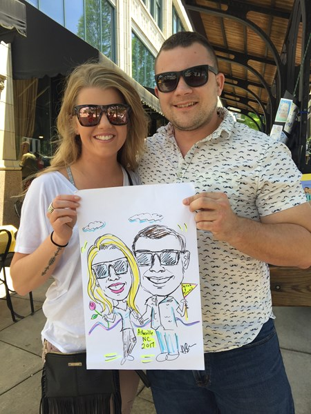 Caricatures by Helen - Caricaturist - Asheville, NC
