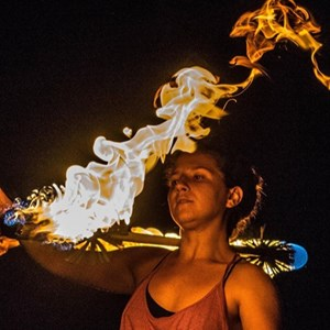 Jacksonville, FL Fire Dancer | Luminous Arts
