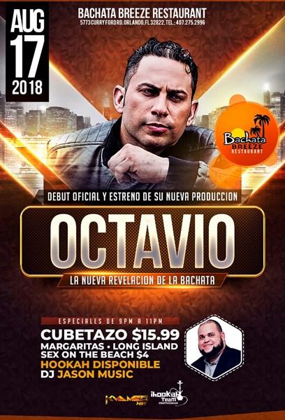 Octavio - Bachata & Merengue - Latin Band - Latin Band Orlando, FL