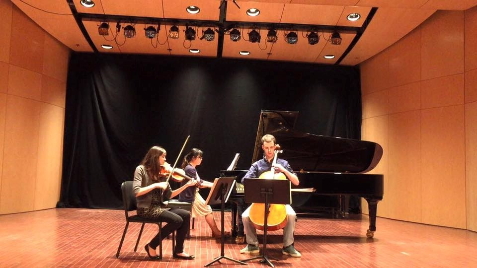 Performed in a trio