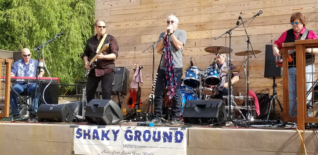 Shaky Ground - Classic Rock Band - Campbell, CA