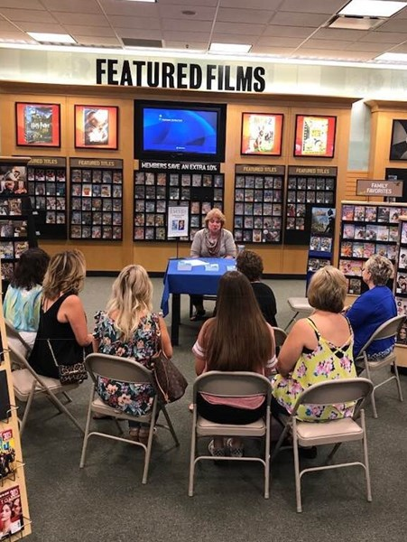 Author talk and autograph