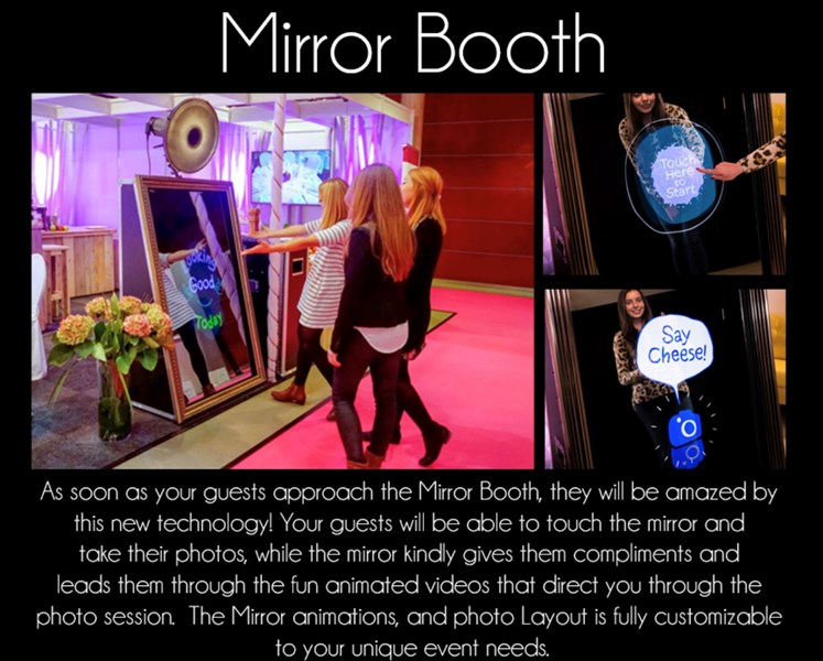 Pic Me Fun Mirror Me Booth Photo booth rental - Photo Booth Rental