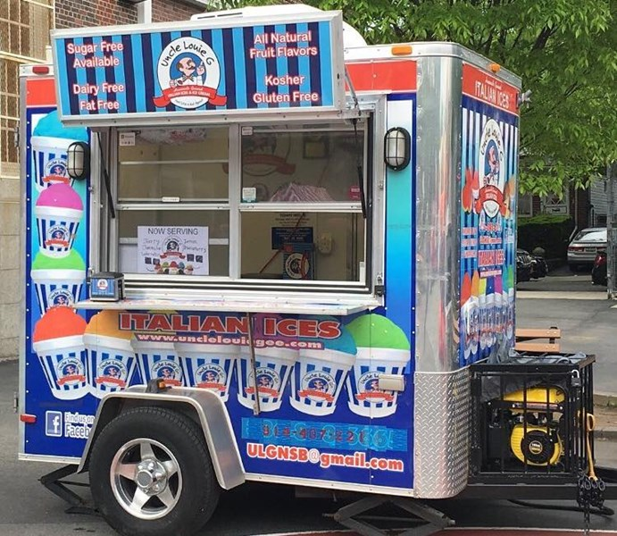Uncle Louie G's Ices Trailer Rental - Food Truck - Oceanside, NY