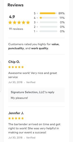 Reviews tell it all!