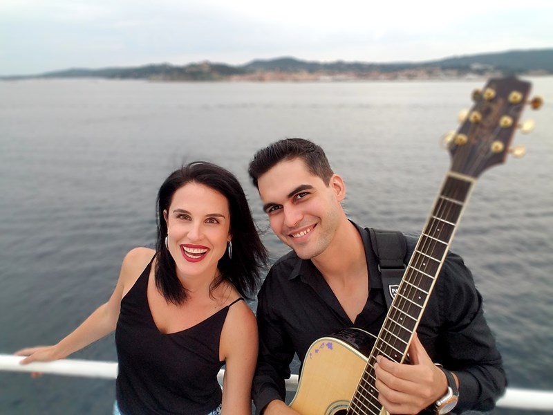 Sergio and Jini -- Acoustic guitar/vocal duo - Acoustic Band - Burbank, CA