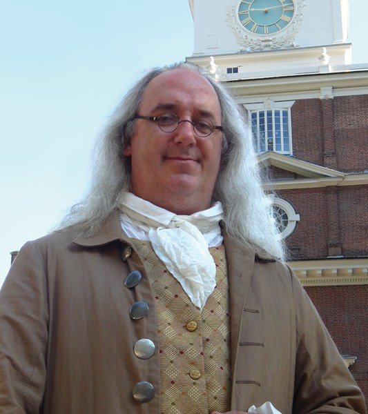Ben Franklin Impersonator- Robert DeVitis - Ben Franklin Impersonator - Philadelphia, PA