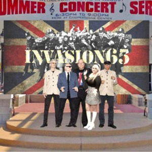 Avondale 60s Band | INVASION65-1960's tribute show-band