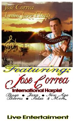 Jose Correa | Dallas, TX | Harp | Photo #7
