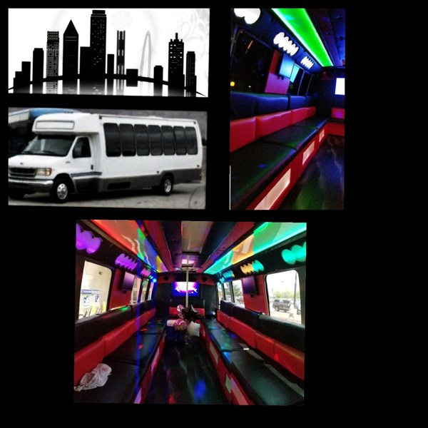 The Rambling Roadster Party Bus - Party Bus - Dallas, TX
