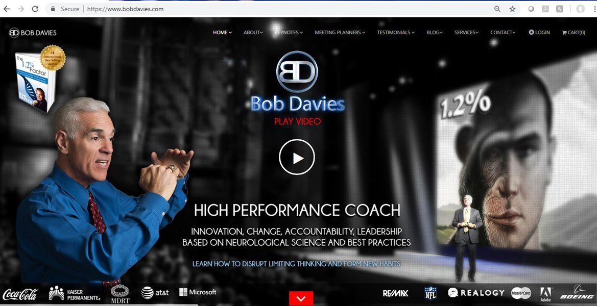 Bob Davies - Motivational Speaker - New York City, NY