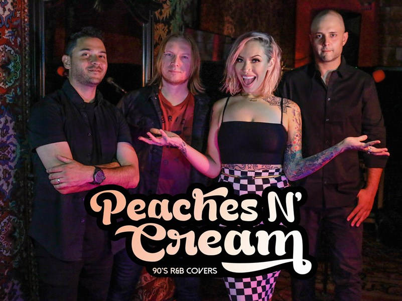 peaches n cream r b band los angeles ca