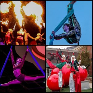 Nashville, TN Acrobat | Beyond Wings Circus