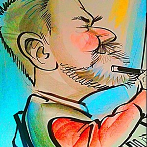 Euless, TX Caricaturist | caricatures by Bob
