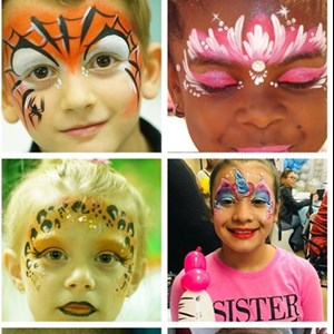 New York City, NY Face Painter | Color Me Happy Face Body Art