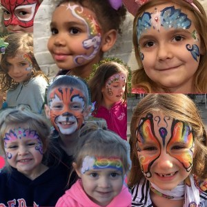 Northampton, MA Face Painter | ZapDazzle Studio Face Painting