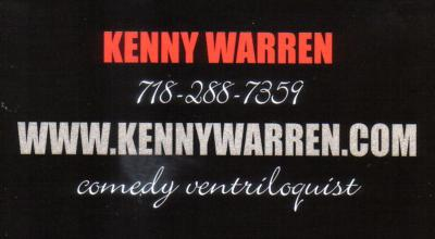 Kenny Warren | Brooklyn, NY | Ventriloquist | Photo #3