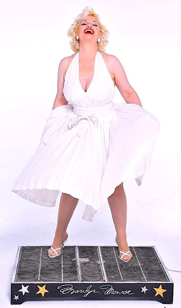 Camille Terry - Marilyn Monroe Impersonator - Palm Beach, FL