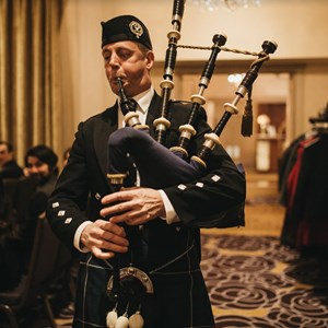 Hillsboro, OR Bagpiper | Scottish bagpiper- Gordon Convoy