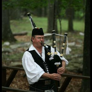 Union Furnace Bagpiper | Robert Mitchell