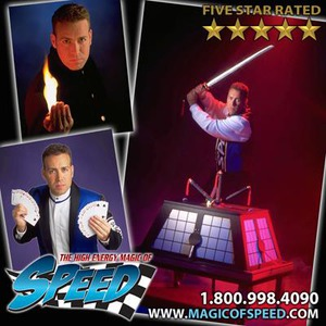Virginia Beach Clown | High Energy Magic of Speed - Illusionist /Magician