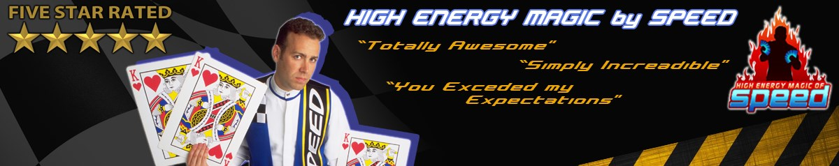 High Energy Magic of Speed - Illusionist /Magician