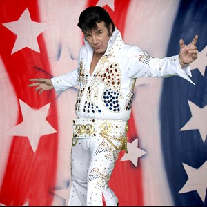 Mesa Elvis Impersonator | Chuck Brown Nostalgic Productions