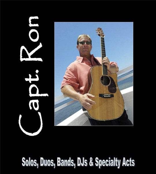 Capt. Ron (Solo, Duo or Band) - Guitarist - West Palm Beach, FL