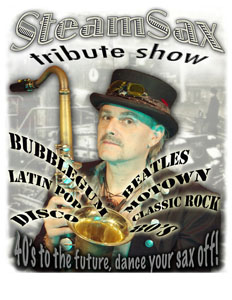 SteamSax Tribute Show - Saxophonist - Los Angeles, CA