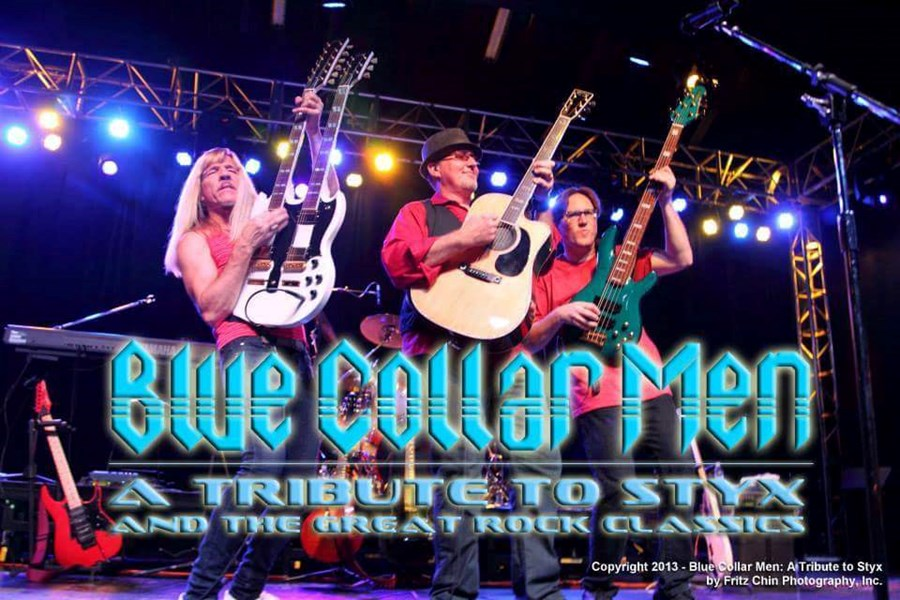 Blue Collar Men Tribute To Styx And The Great Rock - Styx Tribute Band - Sacramento, CA