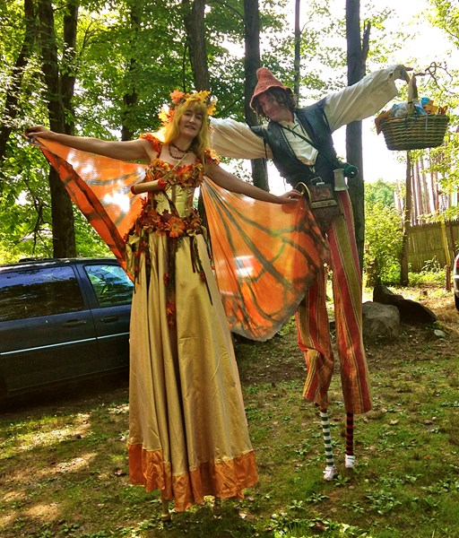 Nina Amaya - Stilt Walker - Baltimore, MD